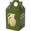 Les pommes de terre choisies et tamponnées par les vidsiteurs et employés ont été plantées sur le site Vauban. la récolte a été proposée à la vente à la boutique de la Citadelle, dans un packaging en série limitée. 2012